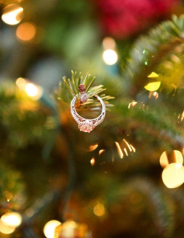 Новорічні свята – чудова нагода красиво освідчитись!