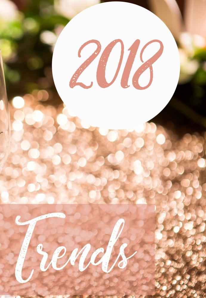 Весілля 2018: тренди, стиль та кольори сучасного весілля