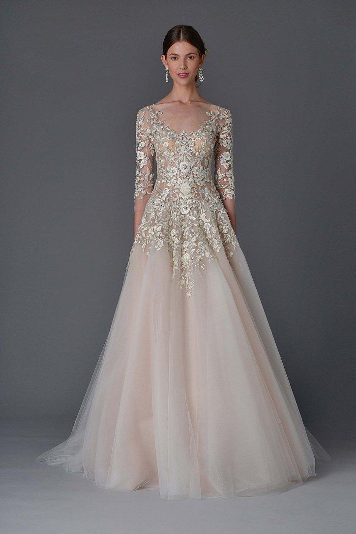4526b2fbb91bcf Весільна сукня з квітами, Спокуслива весільна сукня