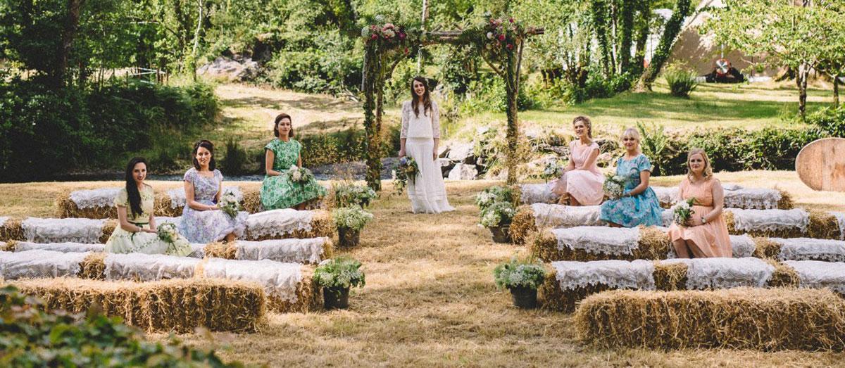 весілля рустік